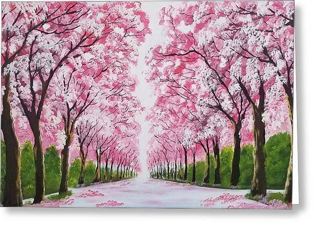 Spring Is In The Air Greeting Card by Deepa Sahoo