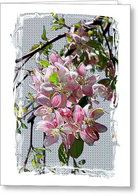 Spring Is Melting Away Greeting Card by Carol Groenen