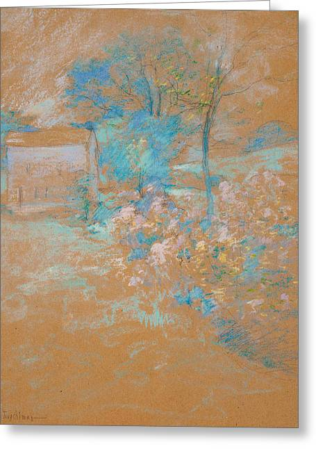 Spring Greeting Card by John Henry Twachtman