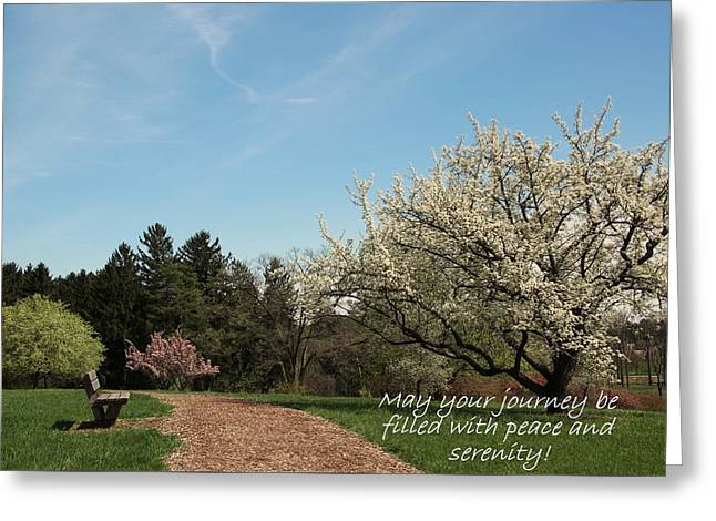 Spring Journey Greeting Card