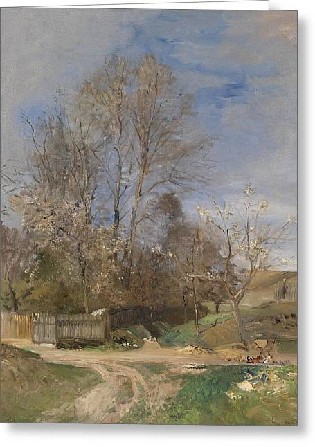 Spring Landscape From Plankenberg Greeting Card
