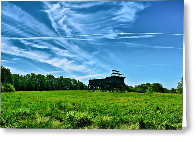 Spring Landscape In Nh 4 Greeting Card by Edward Myers