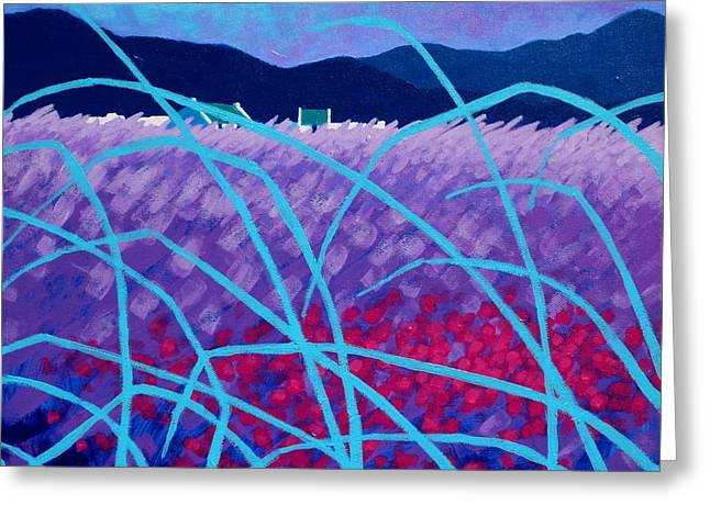 Spring Landscape Greeting Card by John  Nolan