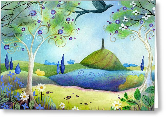 Spring Light Greeting Card by Amanda Clark