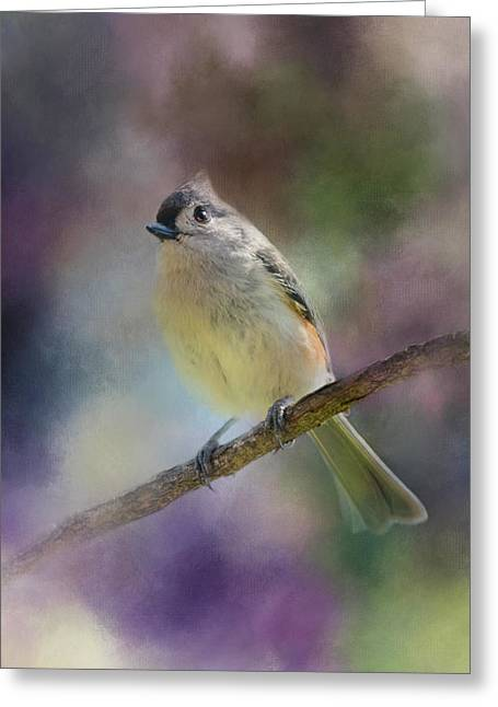 Spring Light In Her Eyes Greeting Card