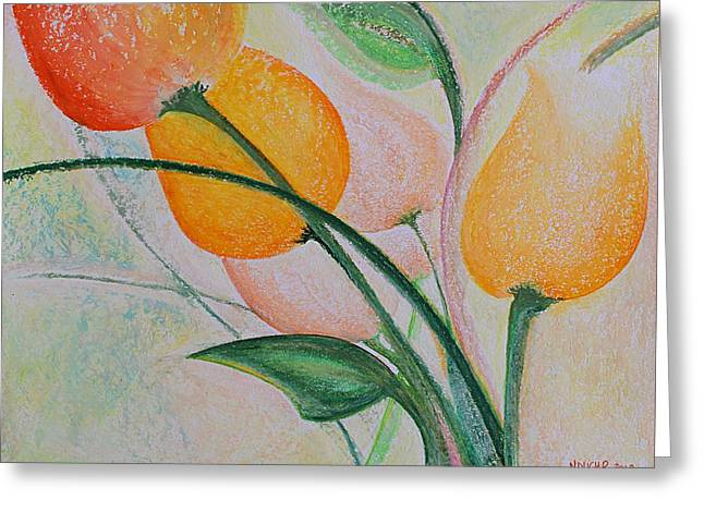 Spring Light Greeting Card