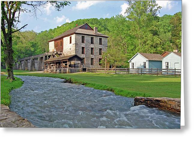 Spring Mill Greeting Card by Ben Prepelka