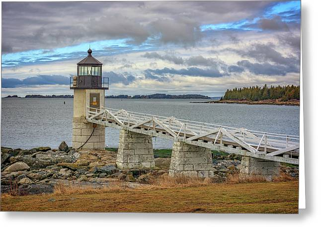 Greeting Card featuring the photograph Spring Morning At Marshall Point by Rick Berk