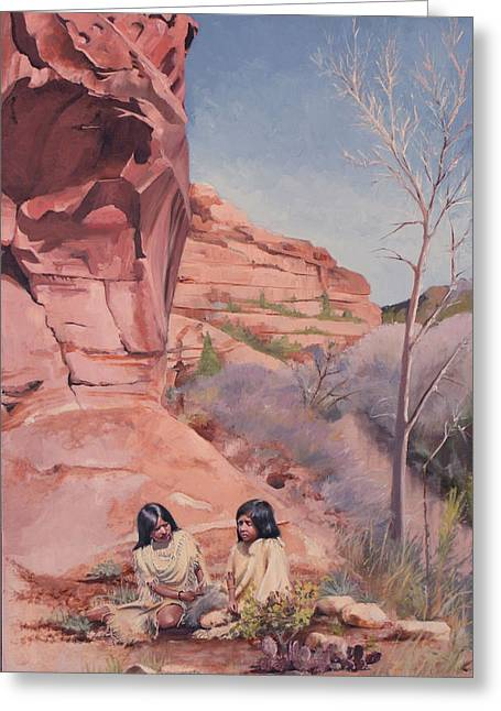 Spring On The Escalante Greeting Card