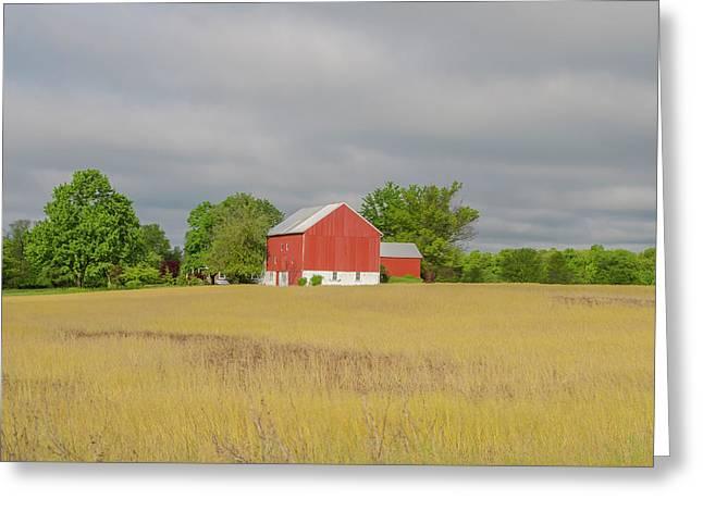 Spring On The Farm - Pennsylvania Greeting Card