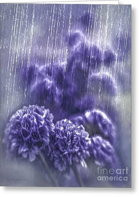 Spring Rain Greeting Card
