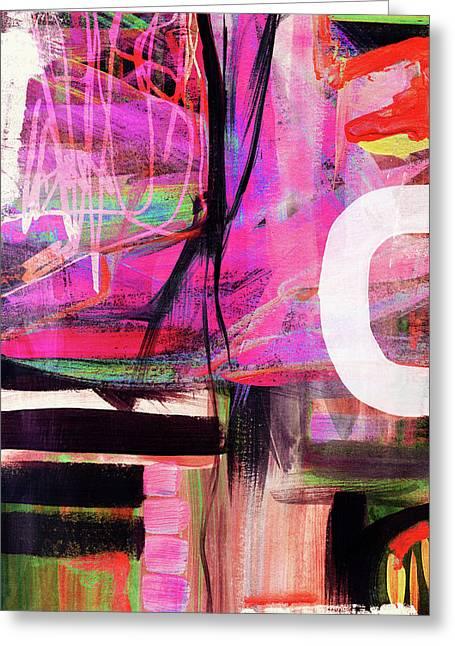 Spring Rhapsody- Art By Linda Woods Greeting Card