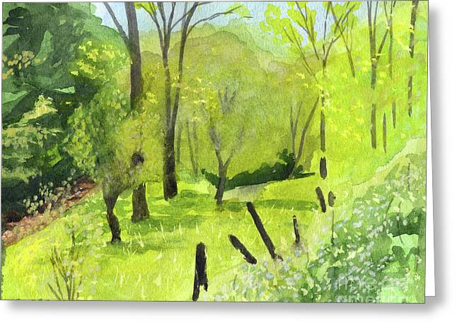 Spring Greeting Card by Robert Coppen