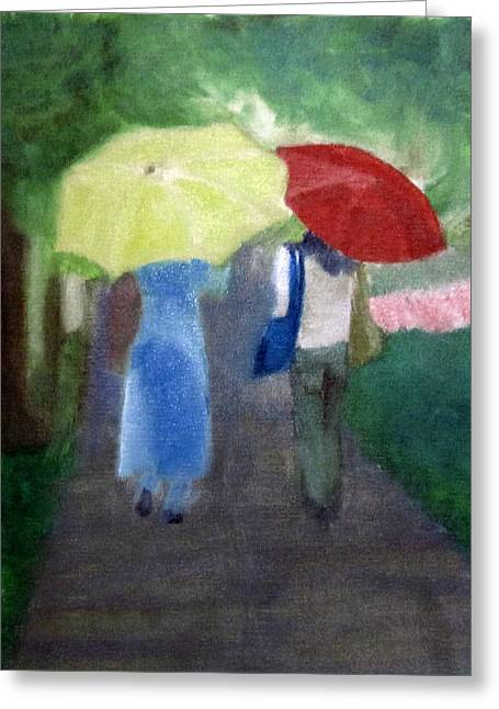 Spring Series Iv Greeting Card by Patricia Cleasby