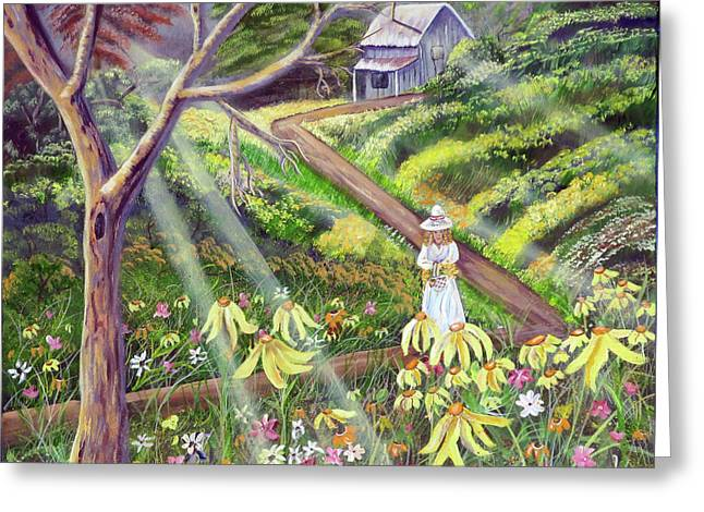 Spring Splendor Greeting Card by Mikki Alhart
