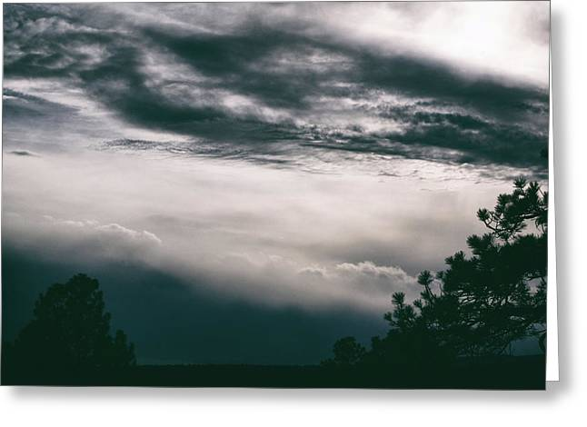 Greeting Card featuring the photograph Spring Storm Cloudscape by Jason Coward