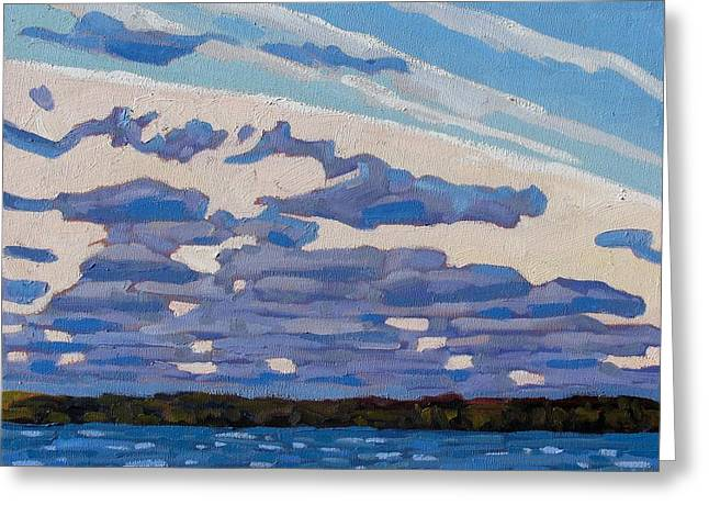 Spring Stratocumulus Greeting Card by Phil Chadwick