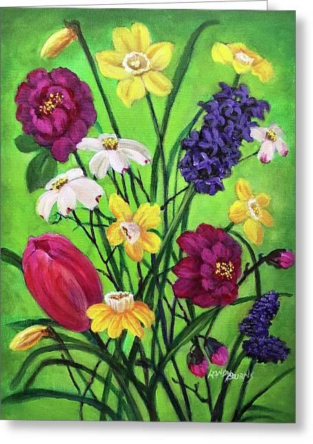 Spring Symphony Greeting Card