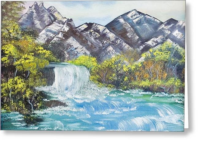 Spring Thaw Greeting Card by Mikki Alhart