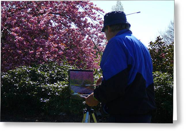 Spring Time Dunedin Nz Greeting Card by Terry Perham