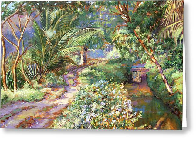 Spring Time In South India Greeting Card by Dominique Amendola
