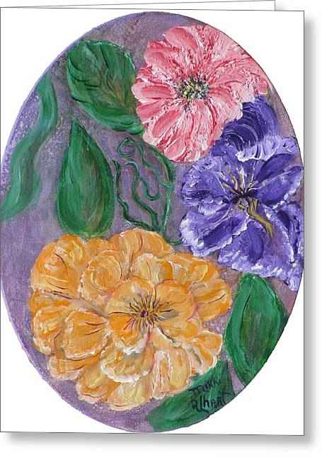 Spring Time Greeting Card by Mikki Alhart