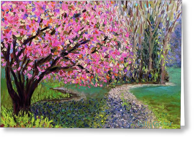 Spring Tree At New Pond Farm Greeting Card