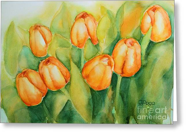 Spring Tulips 1 Greeting Card