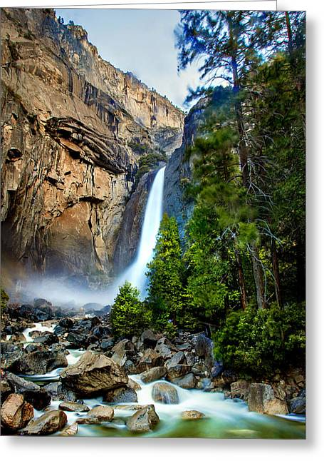 Spring Valley Greeting Card by Az Jackson