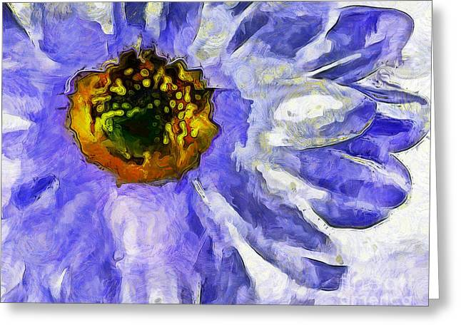 Spring Whimsy Greeting Card by Krissy Katsimbras