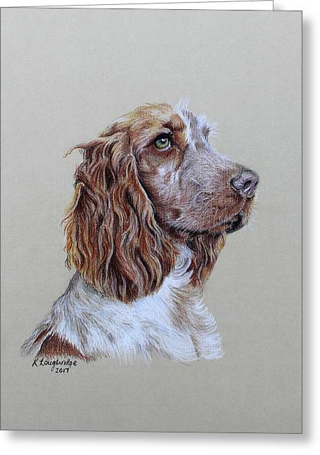 Spaniel 2 Greeting Card