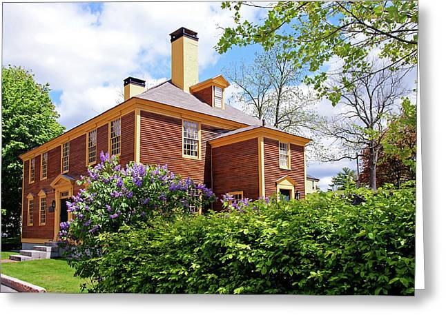 Greeting Card featuring the photograph Springtime At Folsom Tavern by Wayne Marshall Chase