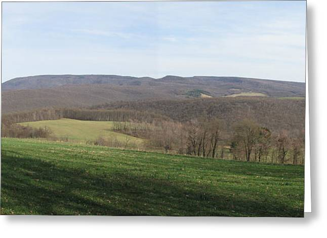 springtime at Kentuck Knob Greeting Card
