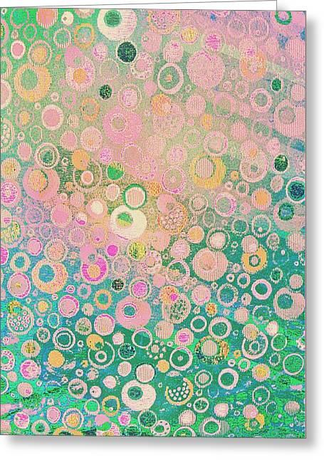 Springtime Festival On Fairy Meadow Greeting Card