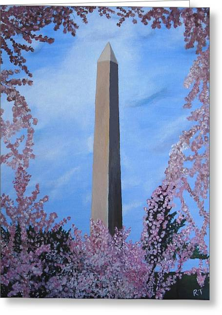 Springtime In Dc Greeting Card