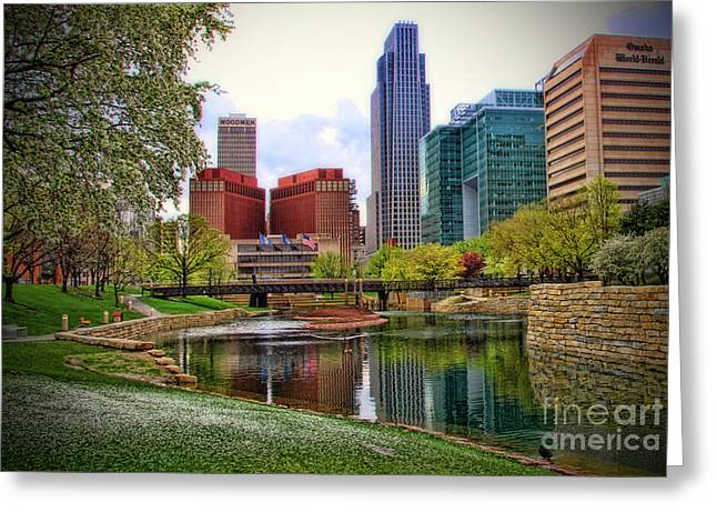 Springtime In Omaha Greeting Card