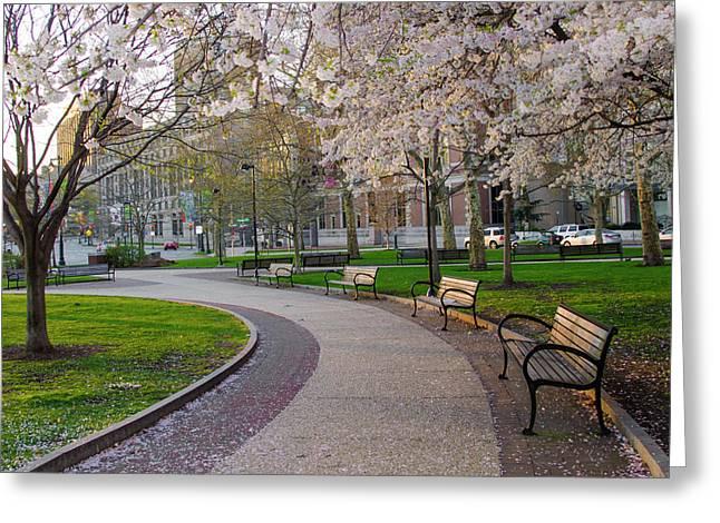 Springtime In Philadelphia Greeting Card