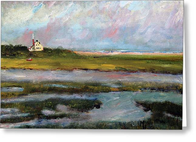Springtime In The Marsh Greeting Card by Michael Helfen