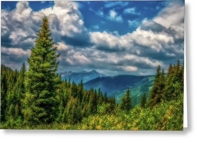 Springtime In The Rockies Greeting Card by Jon Burch Photography