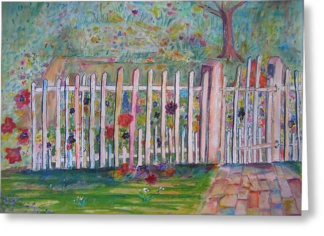 Springtime In Virginia Greeting Card by Marlene Robbins