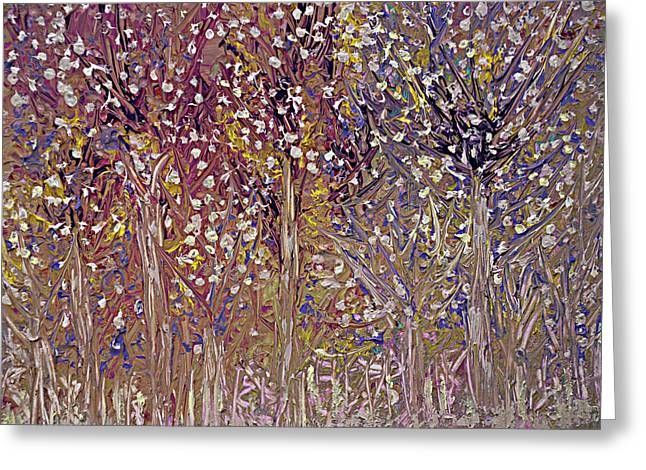 Springtime Painting Greeting Card by Don  Wright
