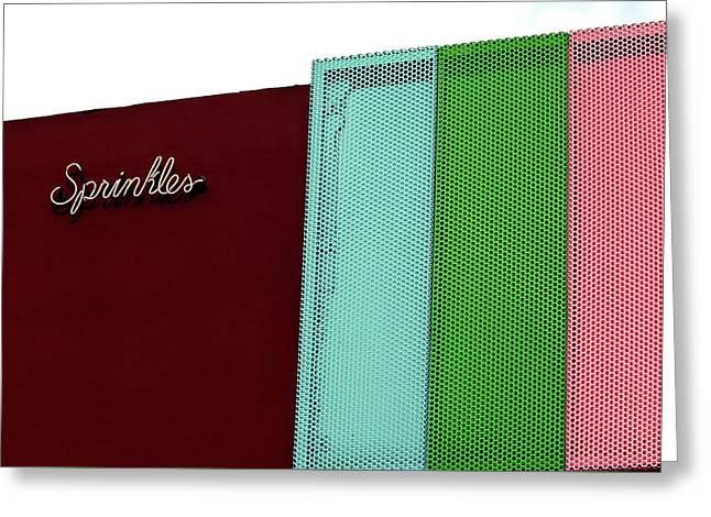 Sprinkles Beverly Hills Greeting Card