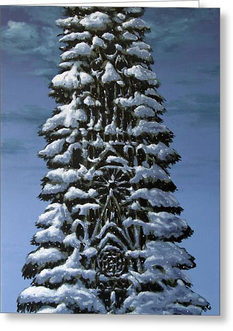 Spruce Greeting Card