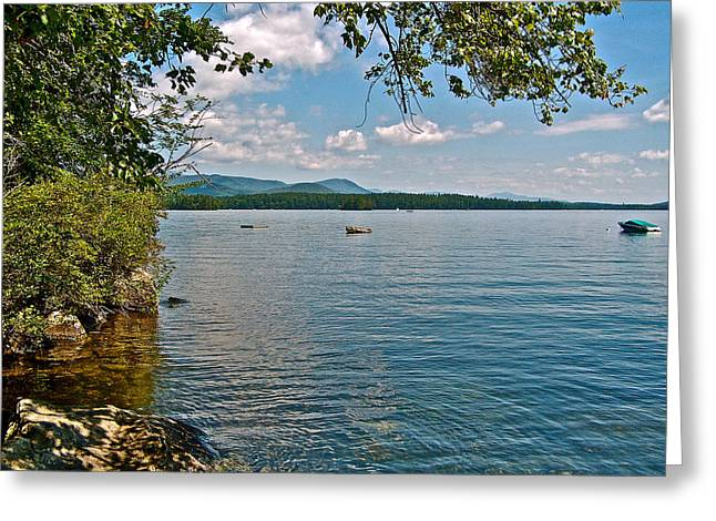 Greeting Card featuring the photograph Squam Lake In New Hampshire   by Ruth Hager