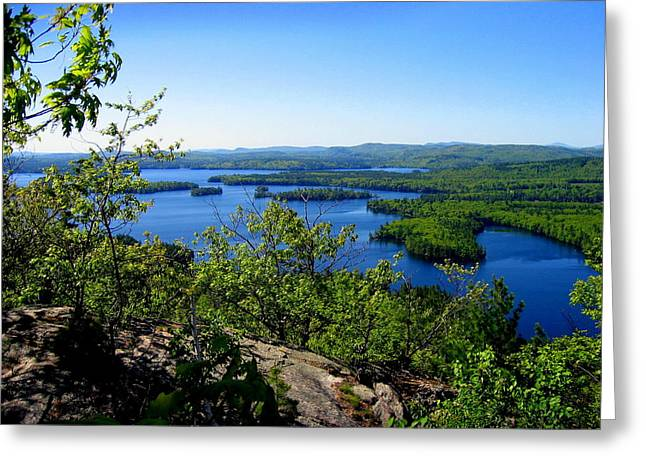 Squam Lake Greeting Card