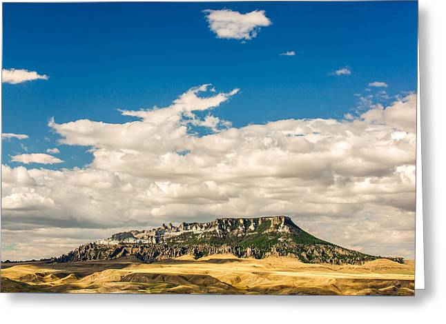Square Butte Greeting Card