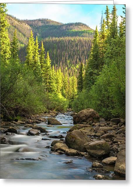 Squaw Creek, Colorado #2 Greeting Card