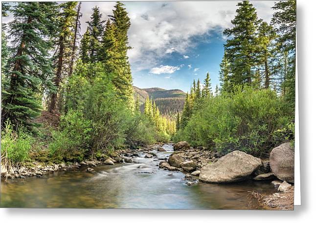 Squaw Creek, Colorado Greeting Card