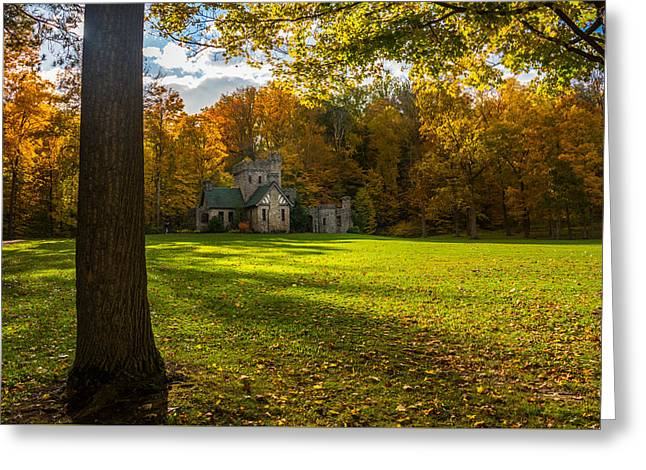 Fall Grass Greeting Cards - Squires Foliage Greeting Card by Andrew Gacom