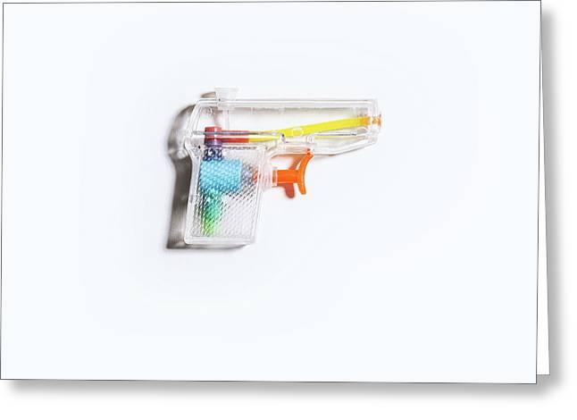 Squirt Gun Greeting Card